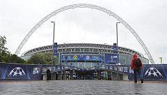 Wembley podría acoger la final de la Champions