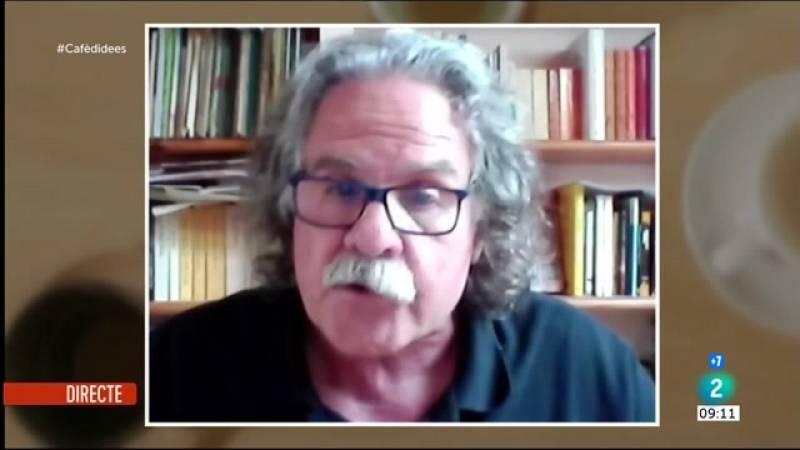 """Cafè d'idees - Joan Tardà: """"Tot depèn de si Junts decideix suïcidar-se o s'avé a negociar"""""""