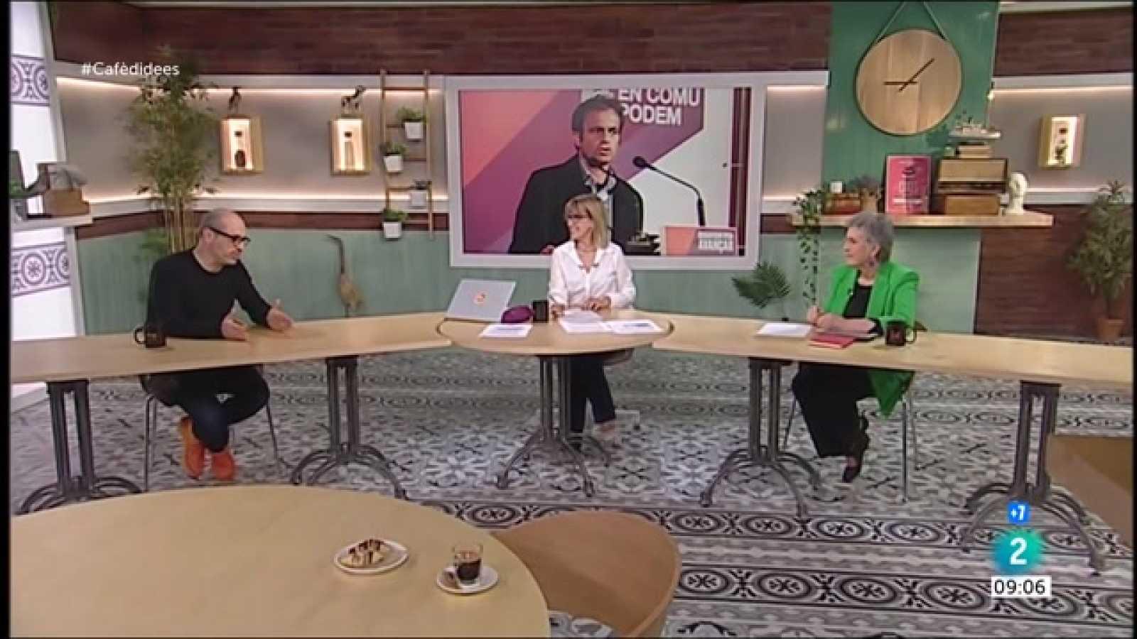 Cafè d'idees - Jaume Asens, Joan Tardà i patents de les vacunes