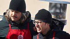 Ofelia contra Pepe: una batalla en la nieve