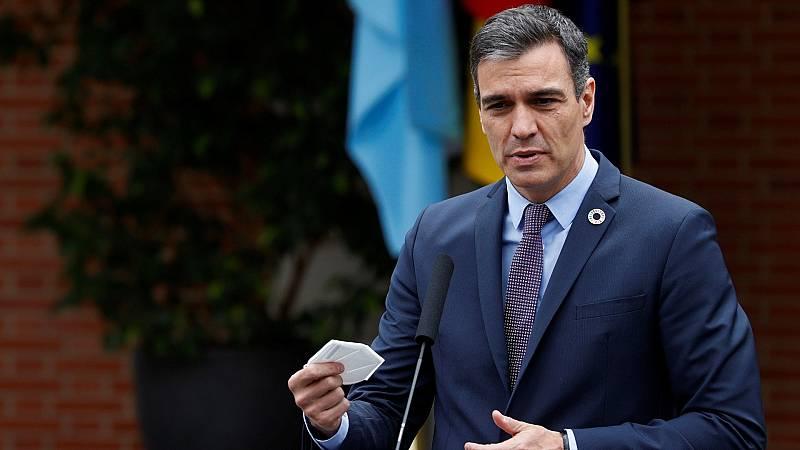 """Sánchez: """"El estado de alarma es el pasado y hay que mirar al futuro"""""""