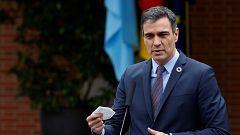 """Sánchez dice que el estado de alarma """"es el pasado"""" mientras la oposición le reprocha el """"caos jurídico"""""""