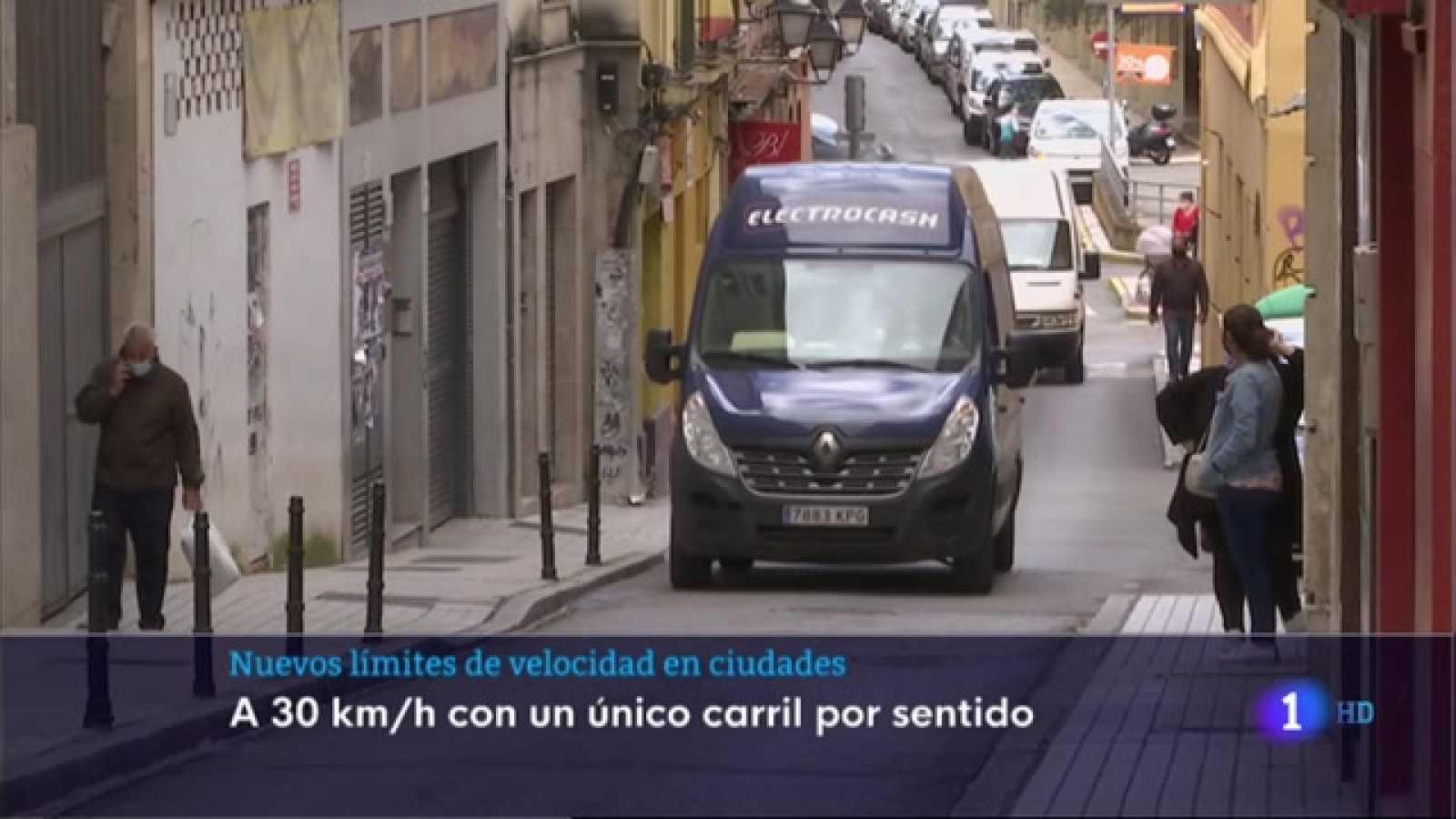 Nuevos límites de velocidad en ciudades - 11/05/2021