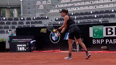 Tenis - WTA 1000 Torneo Roma: Garbiñe Muguruza - Patricia Tig