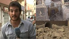 Hablamos con el reportero que vivió en directo el terremoto de Lorca