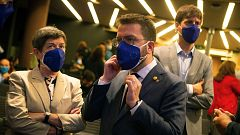 JxCat traslada a ERC que no facilitará la investidura de Aragonès para liderar un Govern en solitario