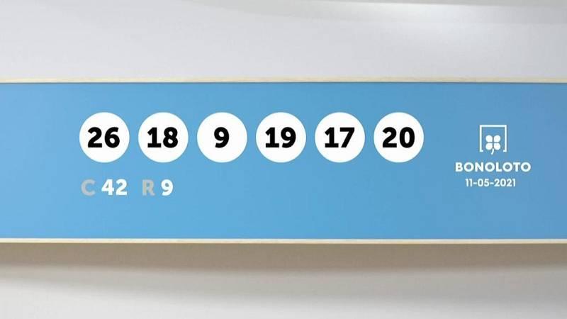 Sorteo de la Lotería Bonoloto y Euromillones del 11/05/2021 - Ver ahora