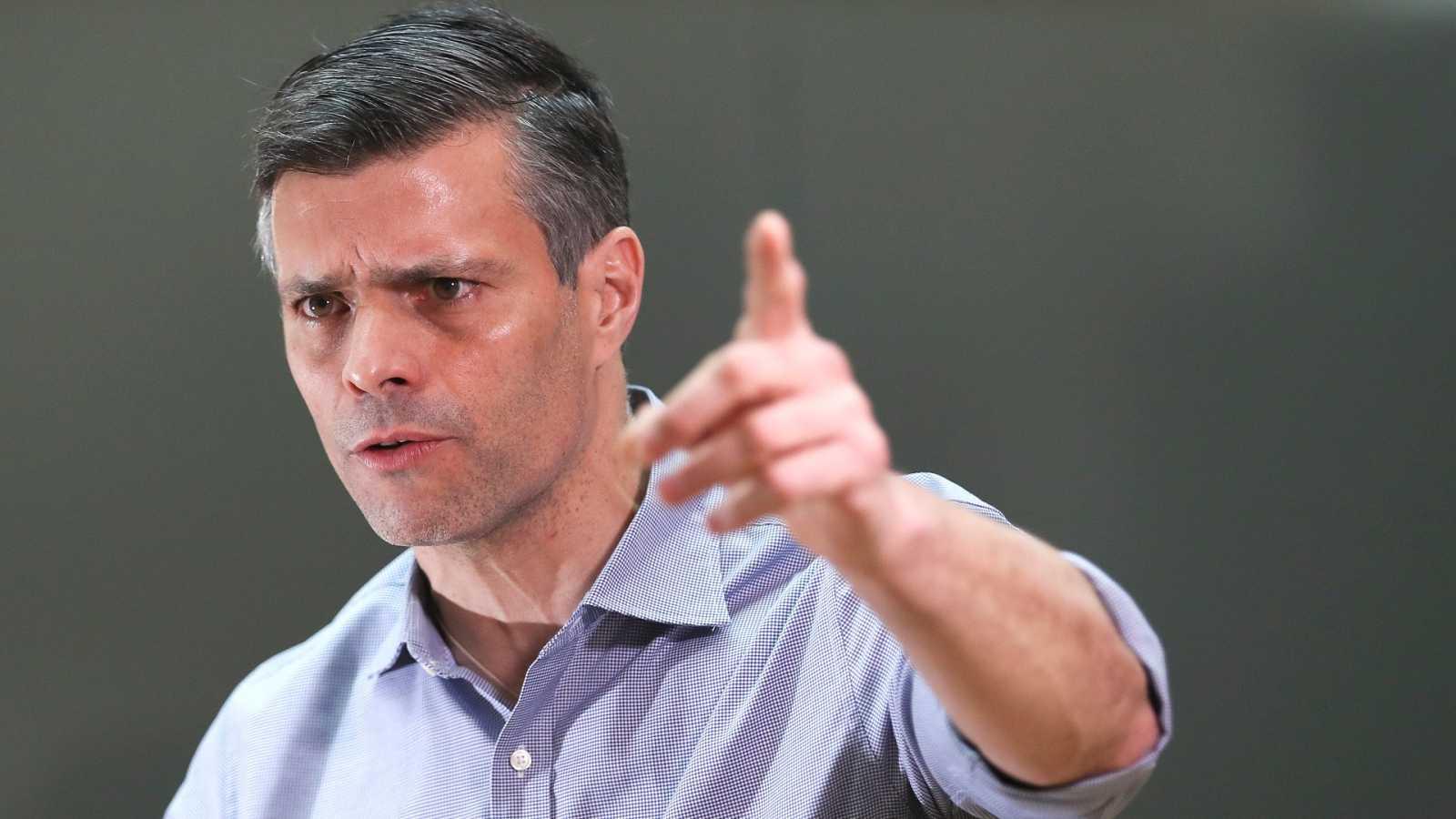 Venezuela pide a España la extradición de Leopoldo López