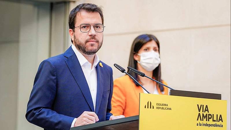 Junts canvia d'opinió i nega els vots per investir Aragonès