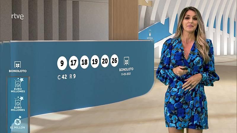 Sorteo de la Bonoloto y Euromillones del 11/05/2021 - ver ahora