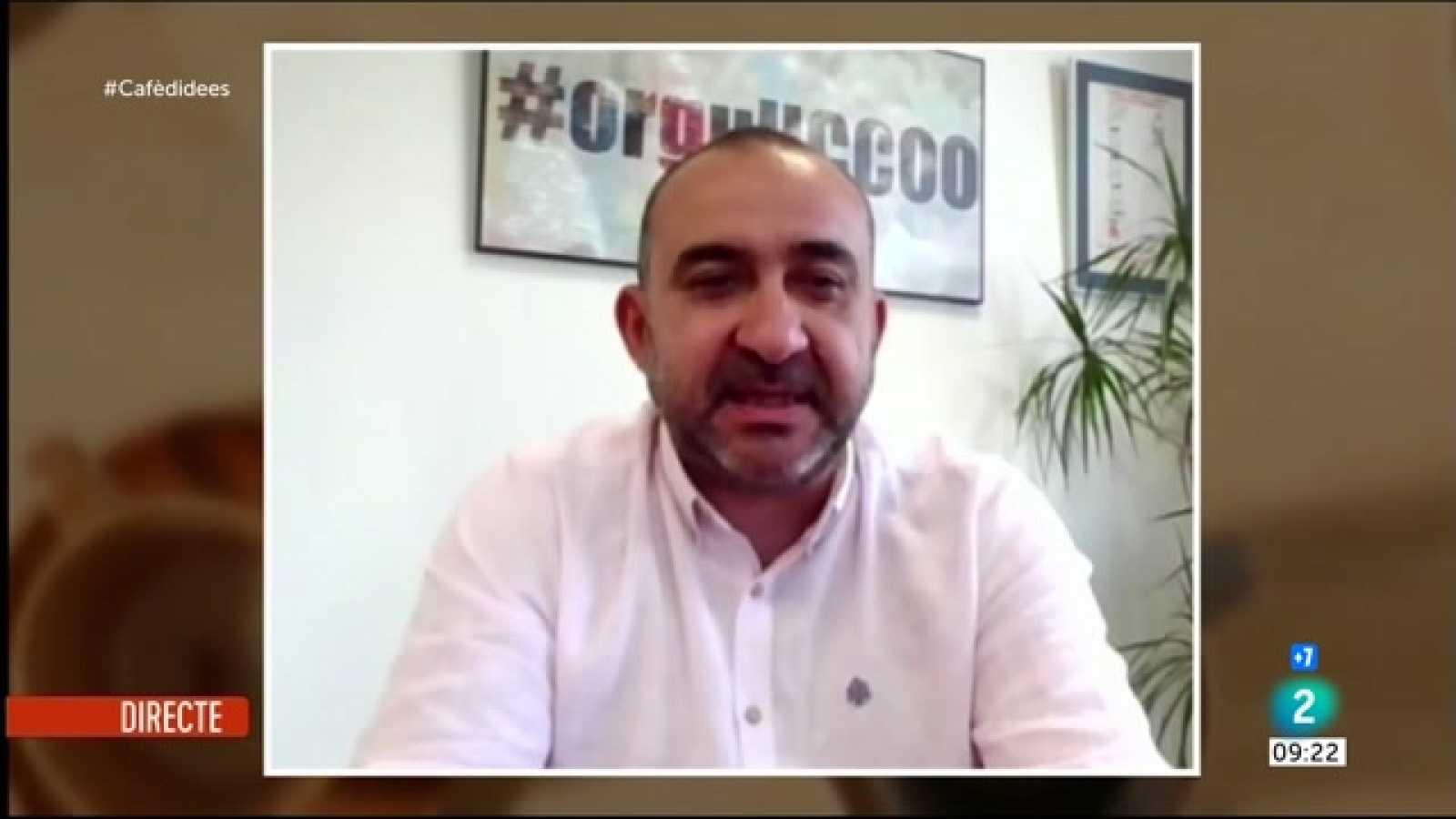 """Cafè d'idees - Javier Pacheco: """"No hi ha interlocució amb el Govern. Està tothom a la seva"""""""