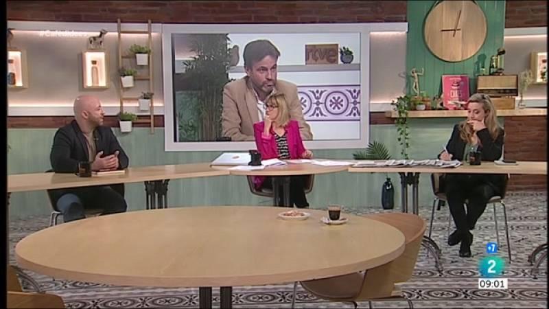 Cafè d'idees - Guillem López Casasnovas, Javier Pacheco i Sonia Vivas