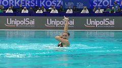 Natación artística - Campeonato de Europa. Final solo libre