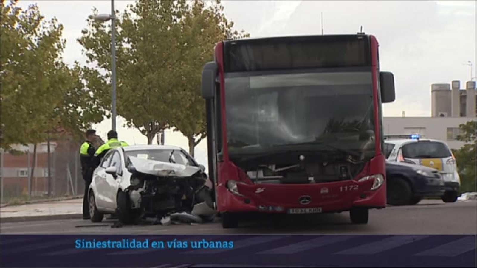 Siniestralidad en vías urbanas - 12/05/2021