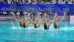 Natación artística - Campeonato de Europa. Final Técnica equipos