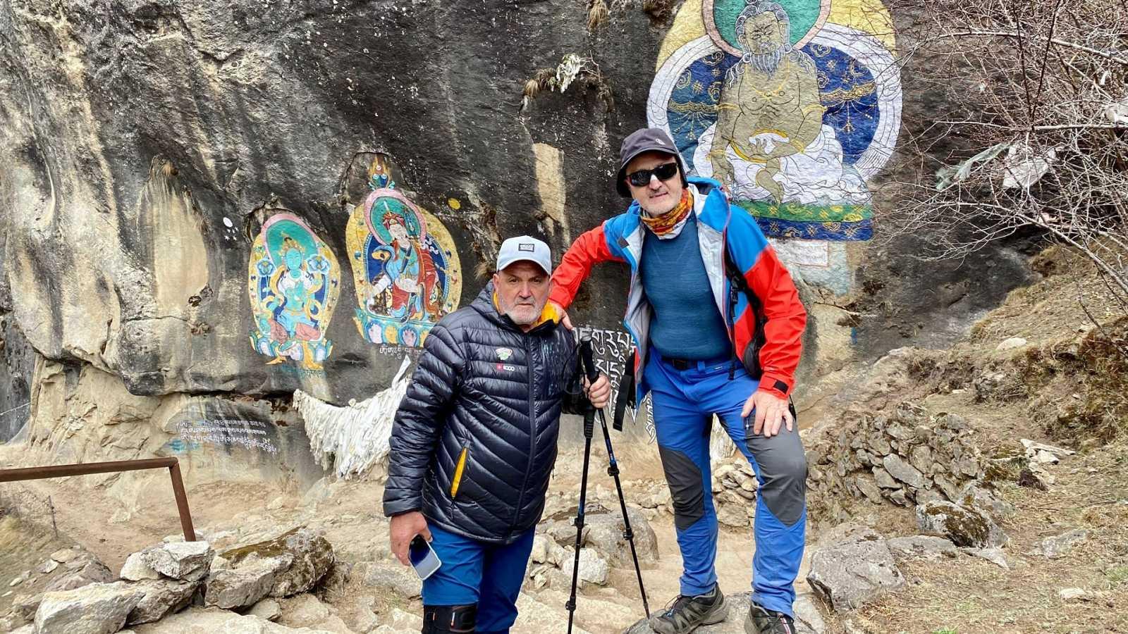 """Sebastián Álvaro y Oiarzábal, atrapados en Nepal: """"Nos encontramos bien pero con la incertidumbre de cuándo volver"""""""