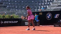 Tenis - WTA 1000 Torneo Roma: Serena Williams - Nadia Podoroska