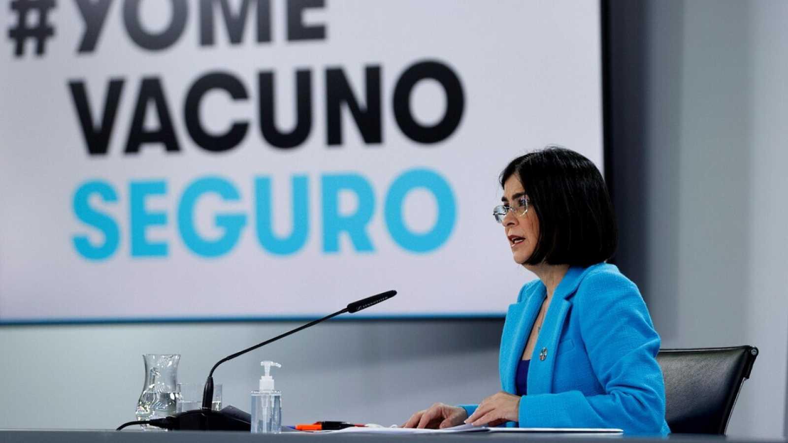 Especial informativo - Comparecencia de la ministra de Sanidad - 12/05/21 - ver ahora
