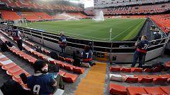 Hasta 5.000 aficionados locales, con mascarilla FFP2 y separación: así será la vuelta del público a la Liga