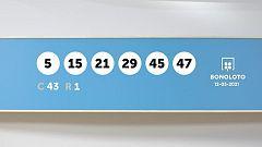 Sorteo de la Lotería Bonoloto del 12/05/2021