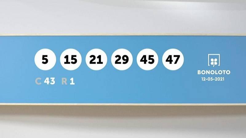 Sorteo de la Lotería Bonoloto del 12/05/2021 - Ver ahora