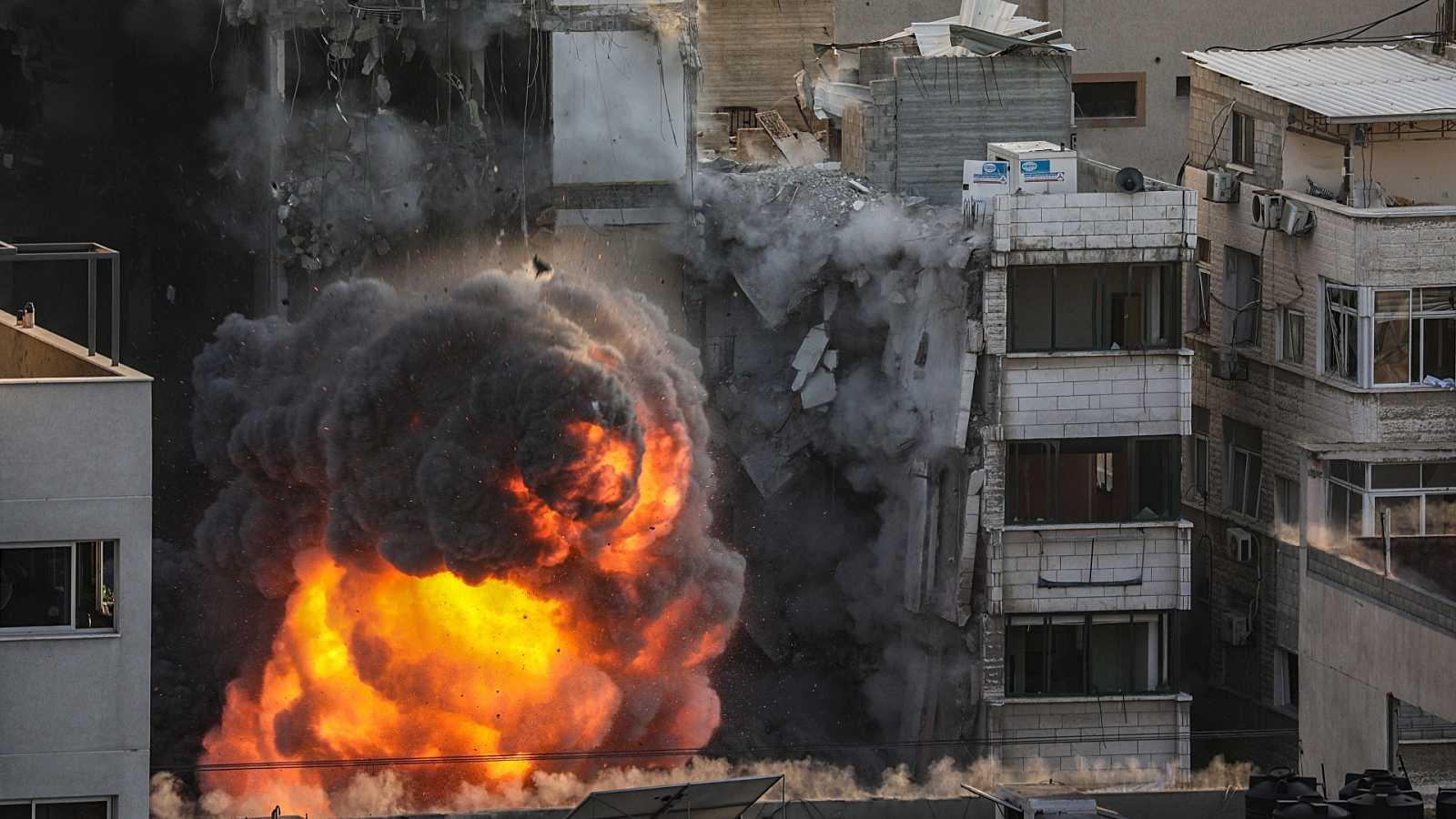El intercambio de misiles entre Gaza e Israel no cesa por tercera jornada consecutiva