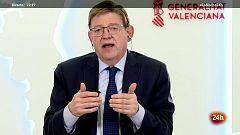 """Ximo Puig: """"No tendría ningún problema en solicitar el estado de alarma si fuese necesario para la Comunidad Valenciana"""""""