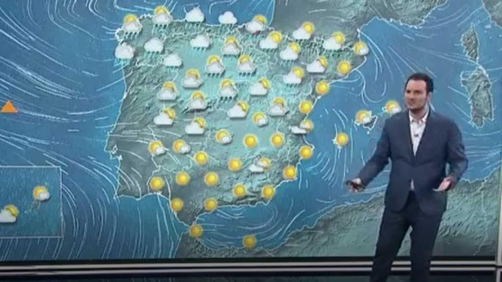 La Aemet prevé lluvias en la mitad norte, que pueden ser fuertes en el oeste de Galicia