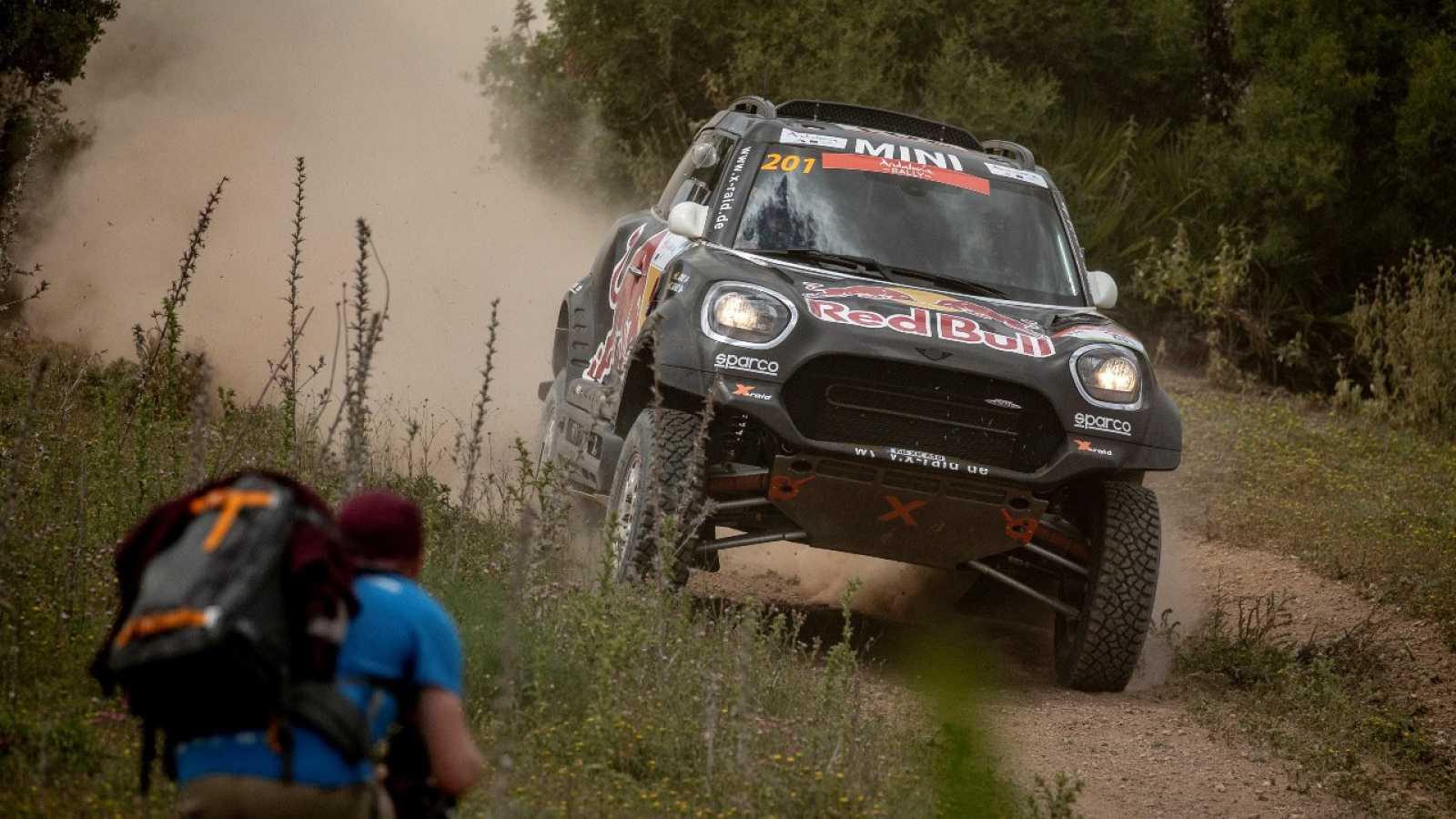 Carlos Sainz sale tercero tras el prólogo del Rally de Andalucía