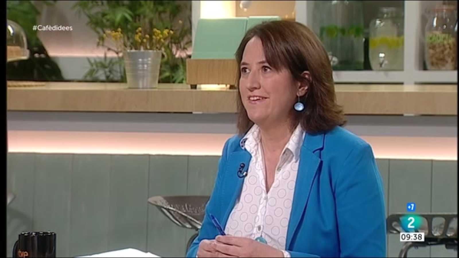 """Cafè d'idees - Elisenda Paluzie: """"Si no hi ha acord, no participarem a cap mes taula amb ells"""""""