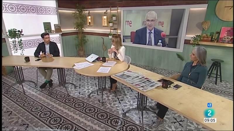 Cafè d'idees - Duran i Lleida, Elisenda Paluzie i 'Puertas Abiertas'