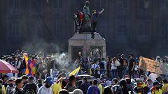 Continúan las protestas en Colombia en la segunda jornada de paro nacional contra Iván Duque