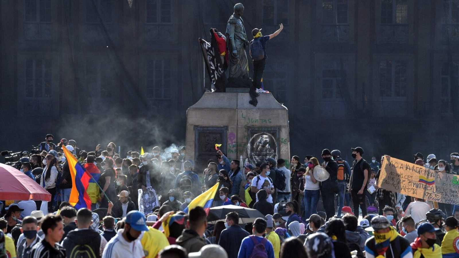 Segunda jornada de paro nacional en Colombia