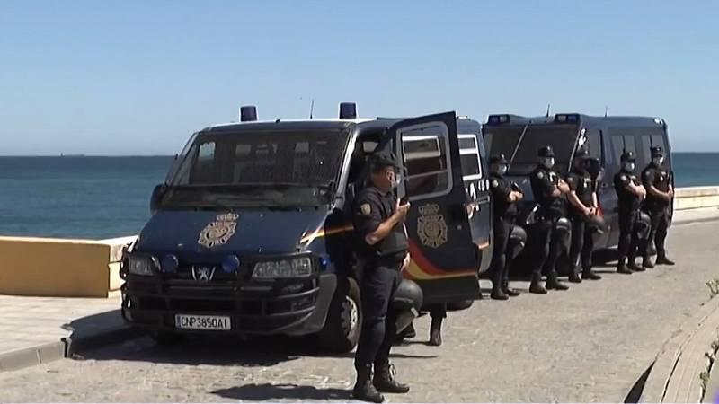 Disturbios y escalada de violencia en La Línea tras la muerte de dos personas