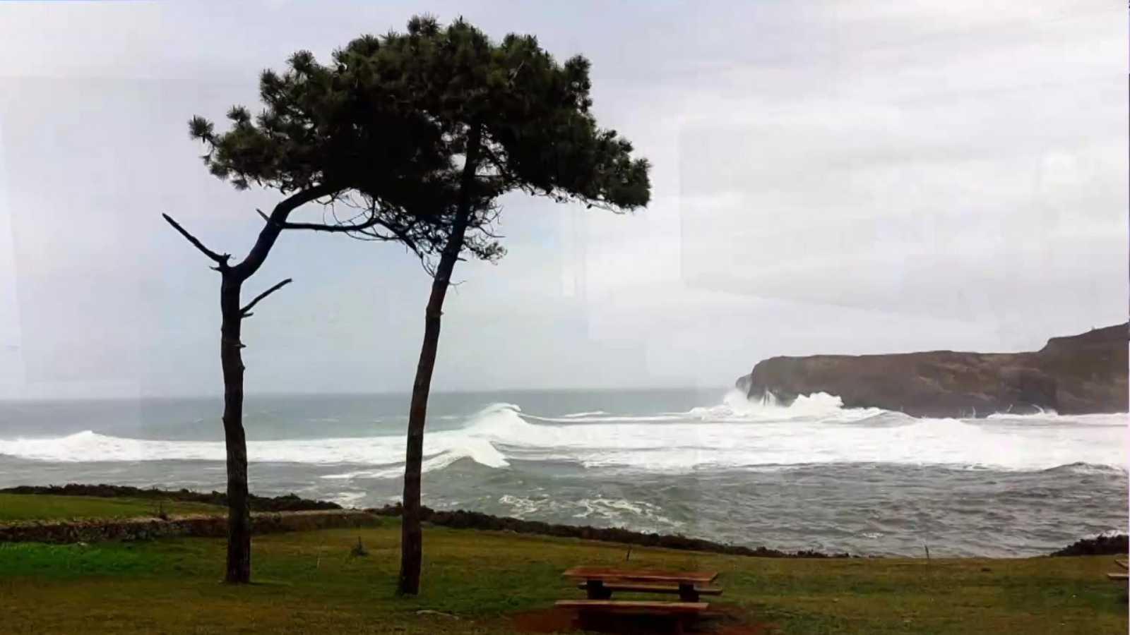 Precipitaciones que podrían ser localmente fuertes y persistentes en el extremo oeste de Galicia - ver ahora