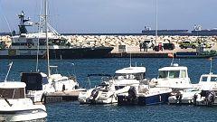 Disturbios en la Línea de la Concepción tras la muerte de dos hombres ahogados en el Estrecho