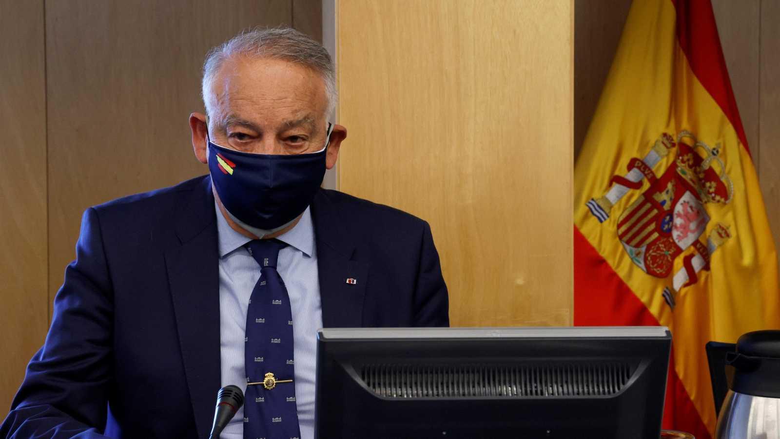 """El exjefe de Policía Eugenio Pino rechaza contestar al Congreso sobre la 'Kitchen': """"No voy a contestar ni a un saludo"""""""