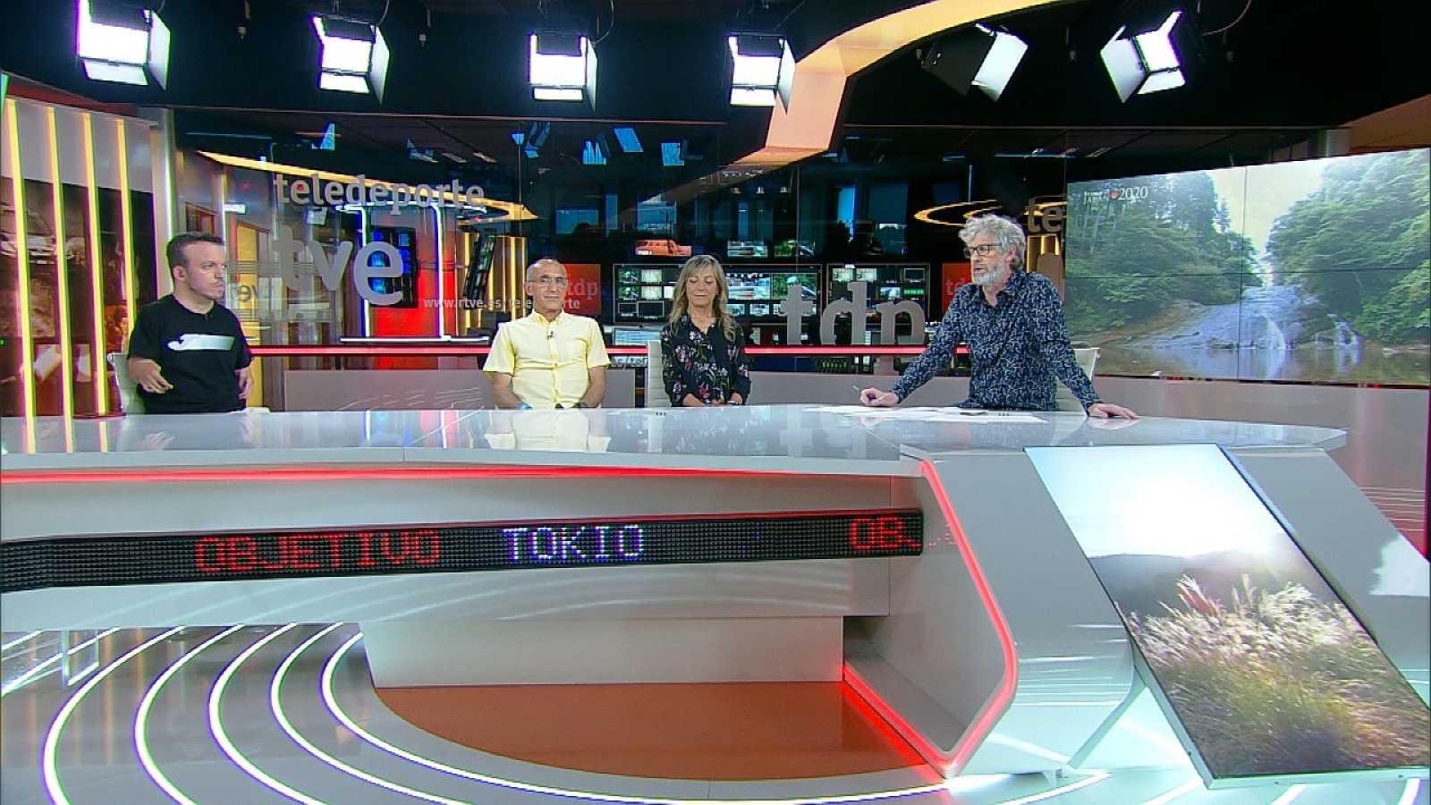 Objetivo Tokio - Programa 157 Paralímpicos: Mari Carmen Paredes, maratoniana, y Lorenzo Sánchez, guía y marido de Mari Carmen - ver ahora