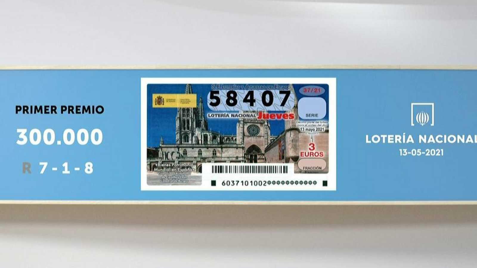Sorteo de la Lotería Nacional del 13/05/2021 - Ver ahora