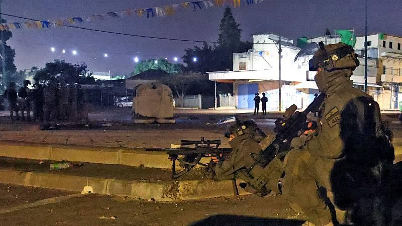 El Ejército israelí no descarta una invasión terrestre de la Franja de Gaza