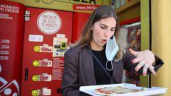Polémica en Italia por una máquina expendedora que prepara pizzas al instante