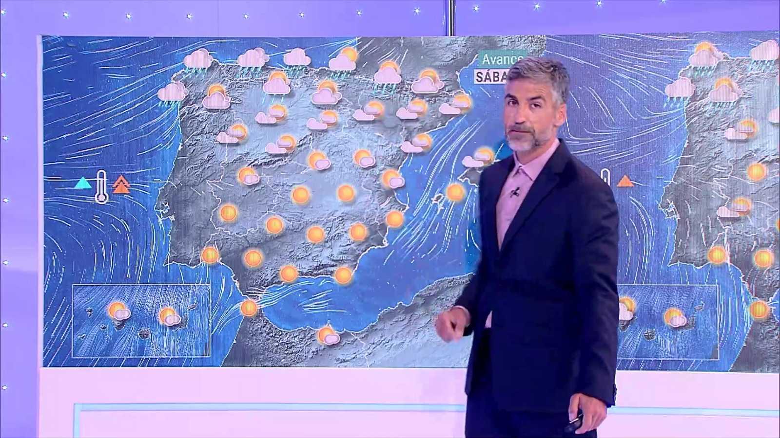 Viento fuerte en Canarias y con intervalos de fuerte en el bajo Ebro, Ampurdán y Menorca - ver ahora