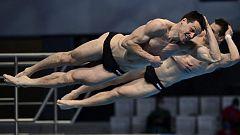 Natación Saltos - Campeonato de Europa. Final 3 m sincronizado masculino