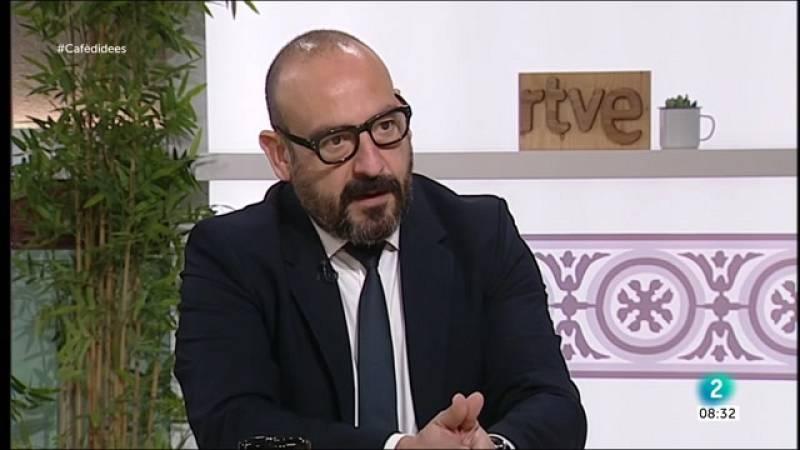 """Cafè d'idees - Jordi Cañas: """"No creuo la mirada amb Puigdemont per no violentar-me"""""""