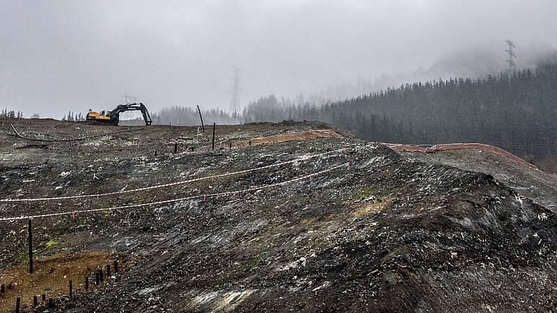 El Gobierno vasco finaliza la búsqueda en el vertedero de Zaldíbar