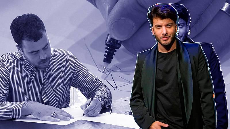 El vestuario de Blas Cantó en Eurovisión 2021