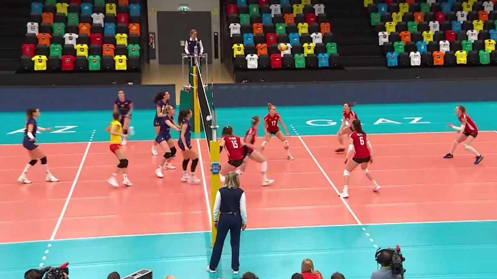 Voleibol - Clasificación Campeonato de Europa femenino 4ª jornada: Austria - España - ver ahora