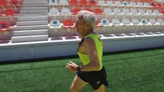 Manuel Alonso, el atleta de 85 años