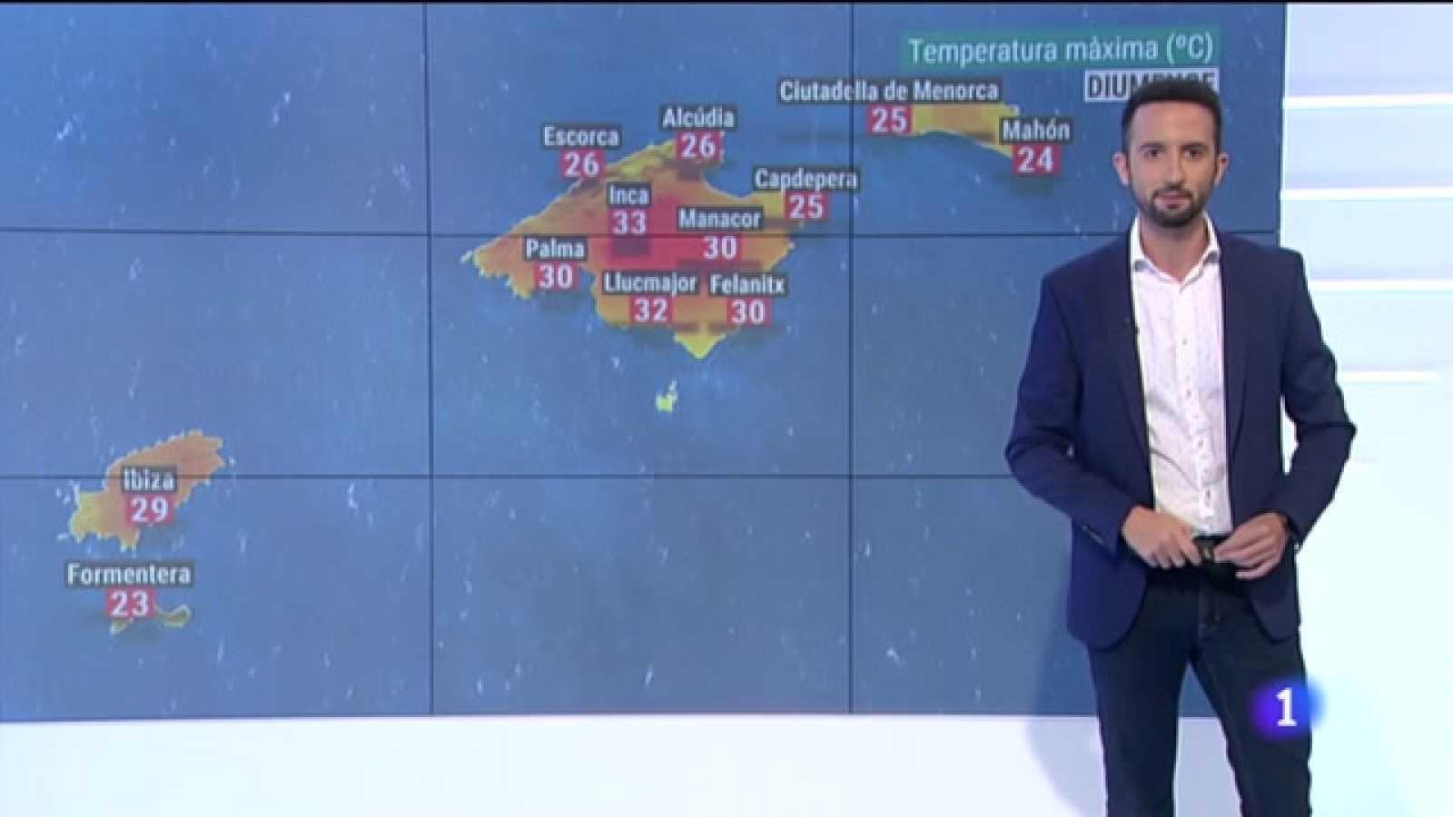El temps a les Illes Balears - 14/05/21
