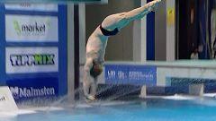 Natación Saltos - Campeonato de Europa. Preliminares 3 m masculino